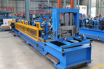 C/Z Purlin Interchangeable Roll Forming Machine