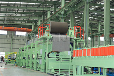 decorative wall insulation board production line