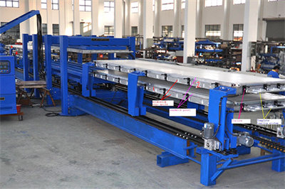 Discontinuous PU Sandwich Panel Production Line