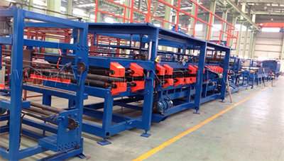SP-7 Mineral Wool/EPS Sandwich Panel Production Line