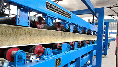 SP-9 Z-Lock Sandwich Panel Line